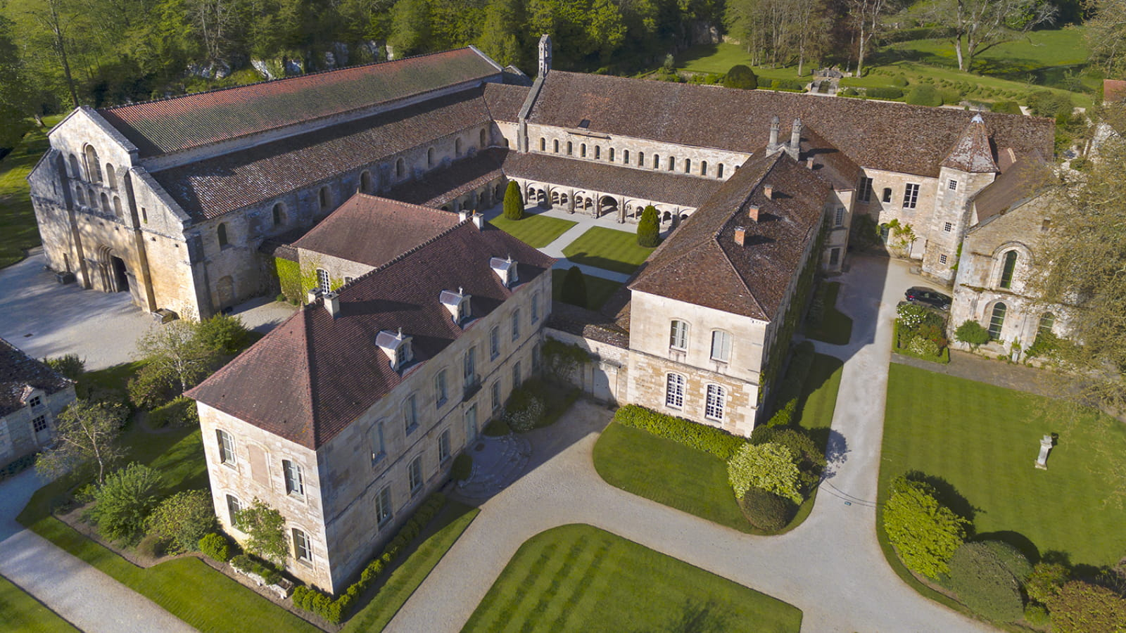 Balade autour de l'abbaye de Fontenay
