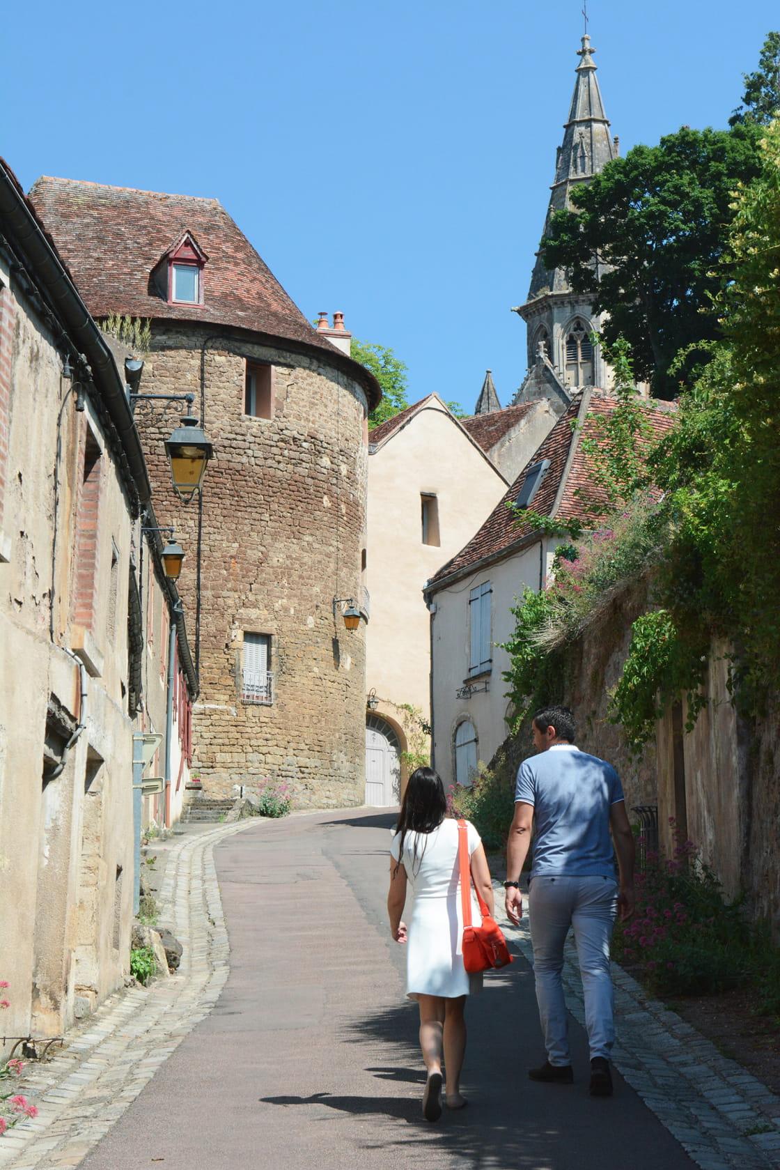 Balade à Semur-en-Auxois