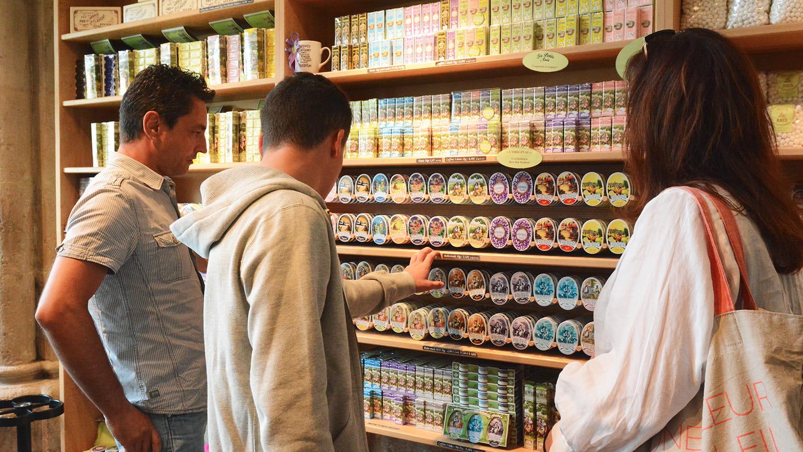 Rayons boutique des anis de Flavigny