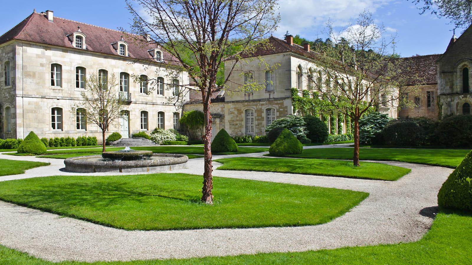 Extérieur Abbaye de Fontenay