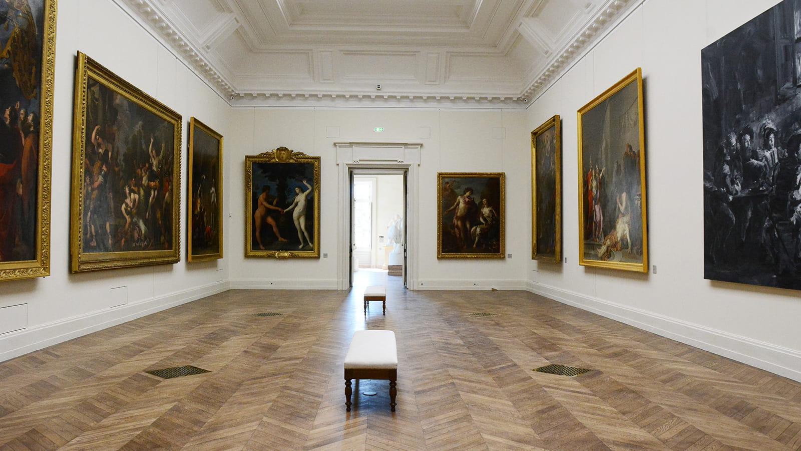 Galerie intérieure du Musée des Beaux-Arts