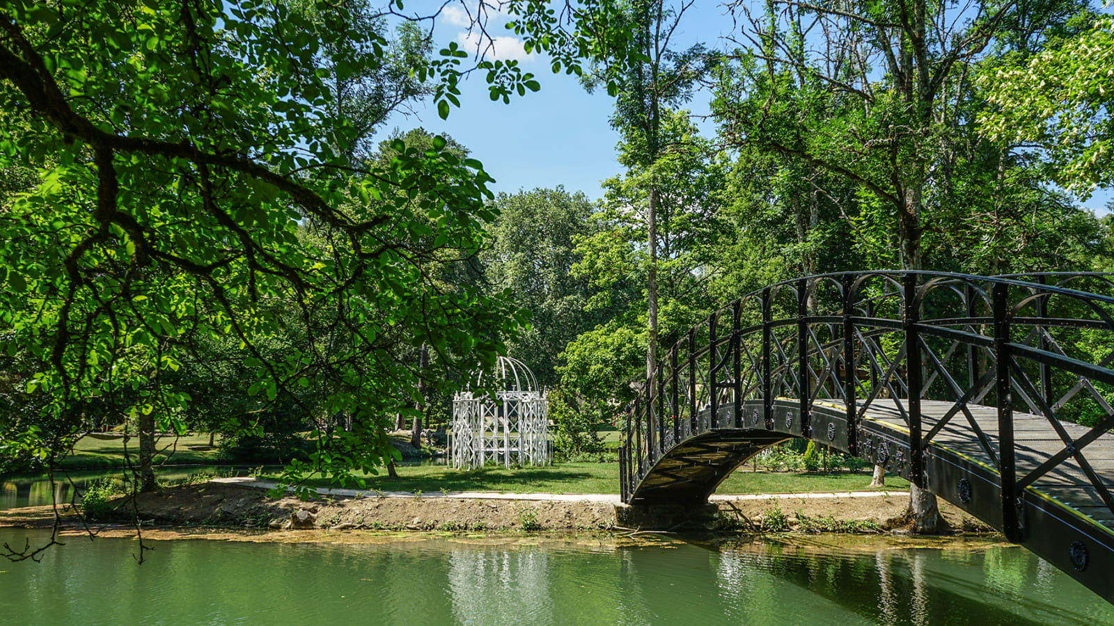 Jardin Abbaye de la Bussière