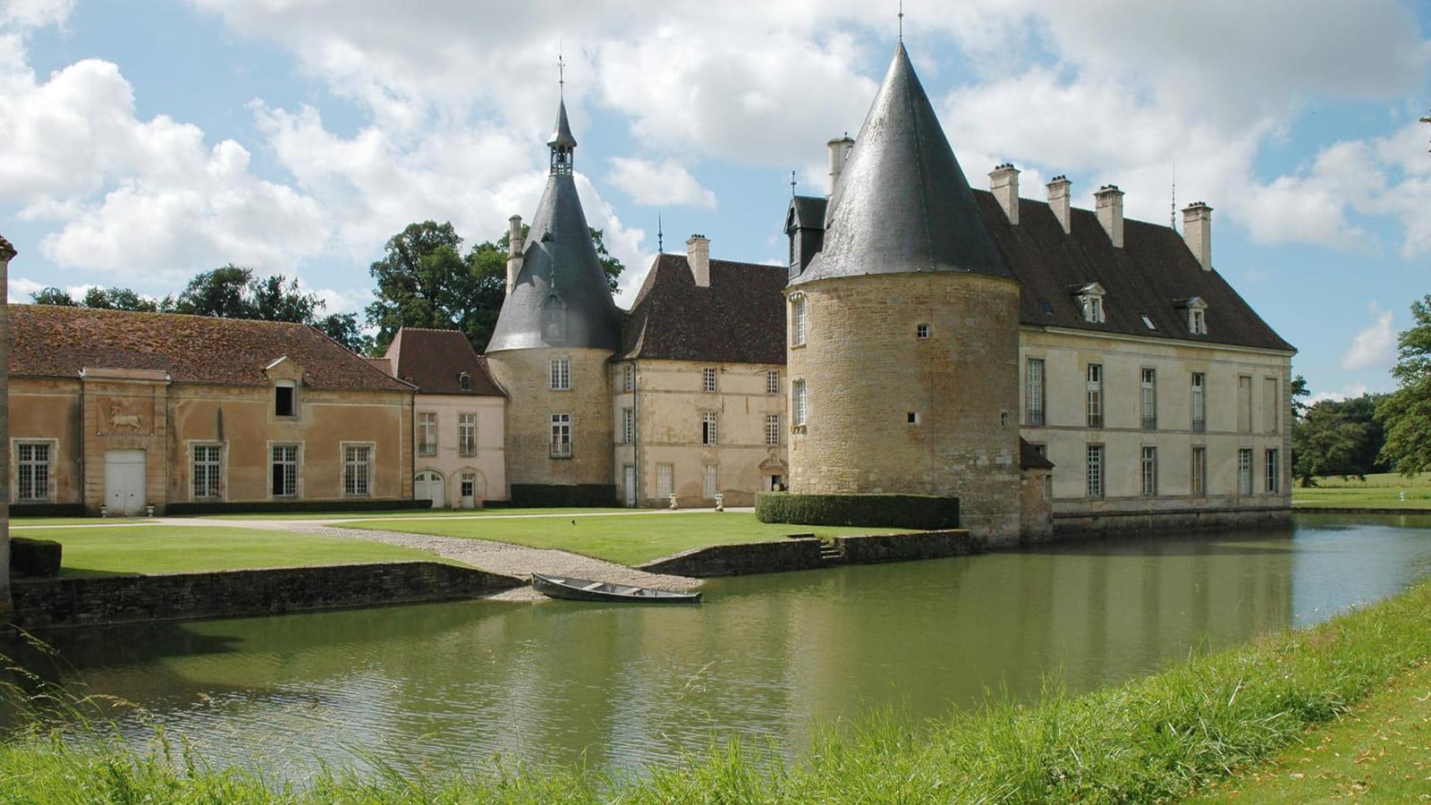 Parc du château de Commarin