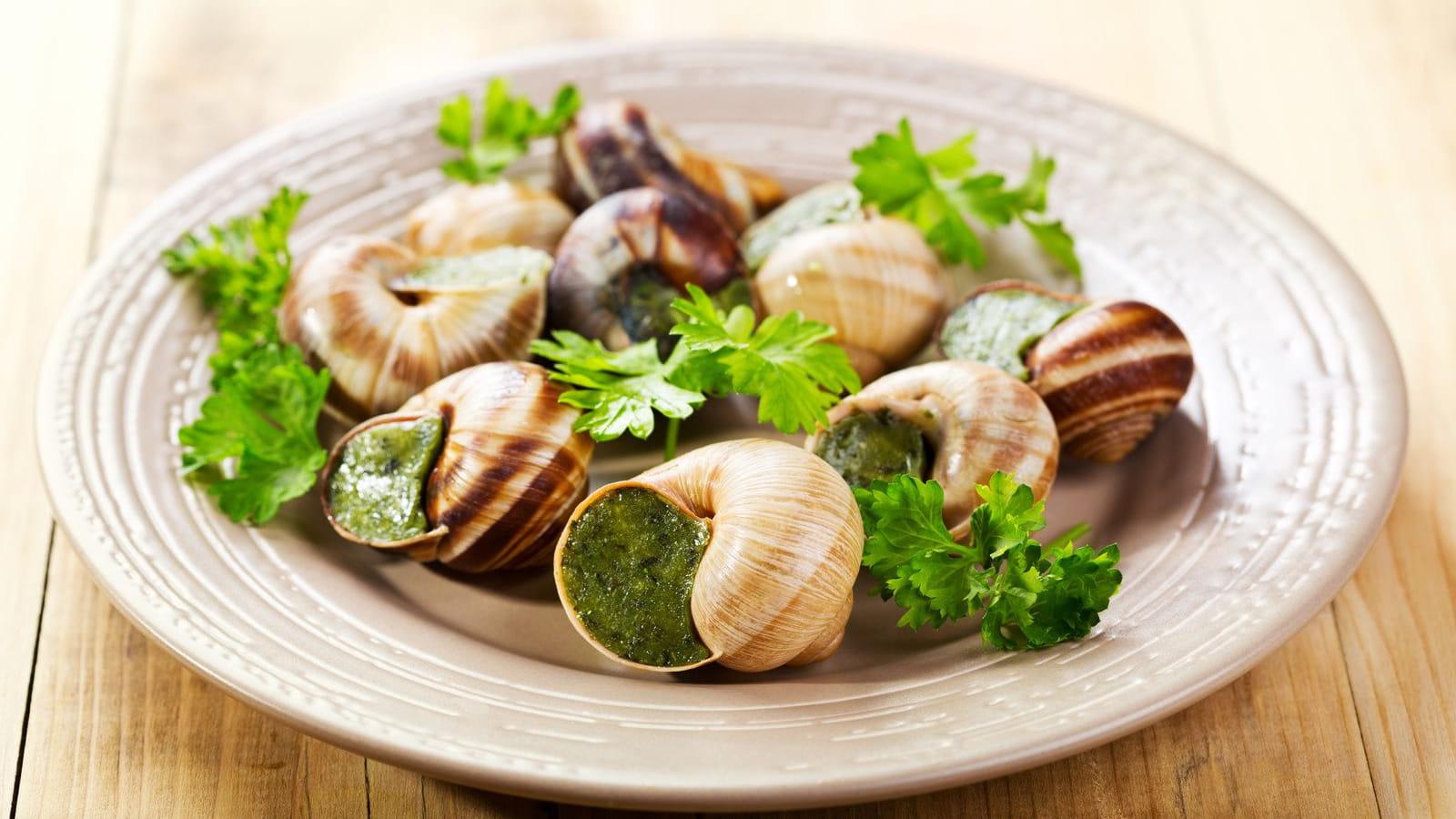 Plat escargots