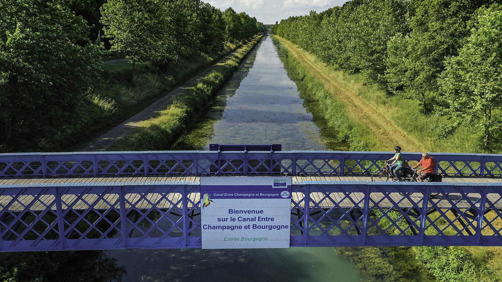 Voie Bleue à Pontailler-sur-Saône