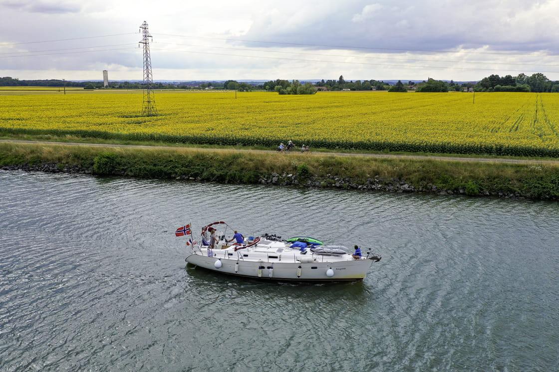 La Saône et la Voie Bleue