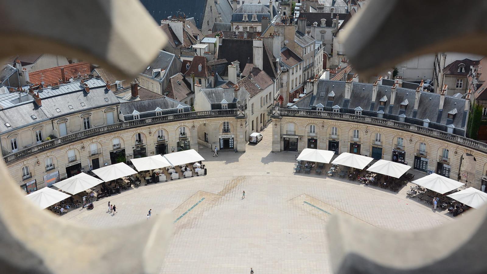 Vue depuis la Tour Philippe le Bon